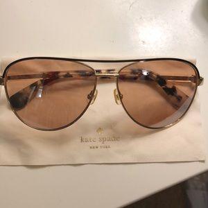Kate Spade Emilyann 59mm Aviator Sunglasses